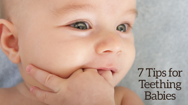 Help for teething infants